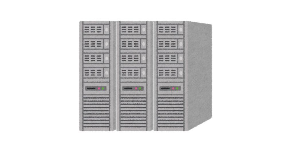コンピューターサーバー