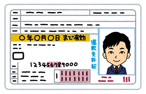 運転免許証の取得
